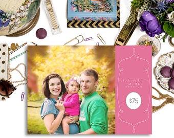 5x7 Maternity Marketing Template
