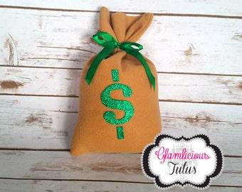 Money Bag | Burglar | Cops and robbers prop | Money bag prop | Money pillow |