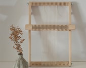 RESERVED Small Frame Weaving Loom with Rotating Heddle