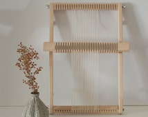 Small Frame Weaving Loom with Rotating Heddle