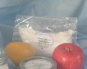 Body Powder Refill - 8 oz bag, dusting powder, shoe powder, dry shampoo, bed linens powder