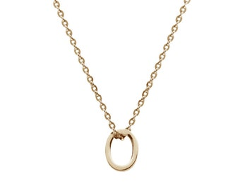 oval necklace - lei -