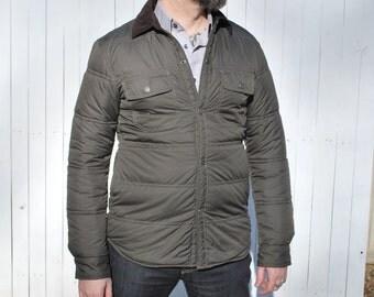 Quilted Windbreaker, Field Jacket