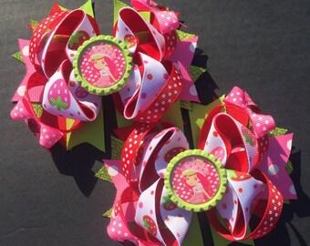 Strawberry Shortcake Pigtails