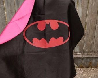 Batman/ Batgirl Super Hero Mask and Cape