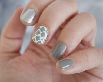 Moroccan Tile Shaped Nail Decals