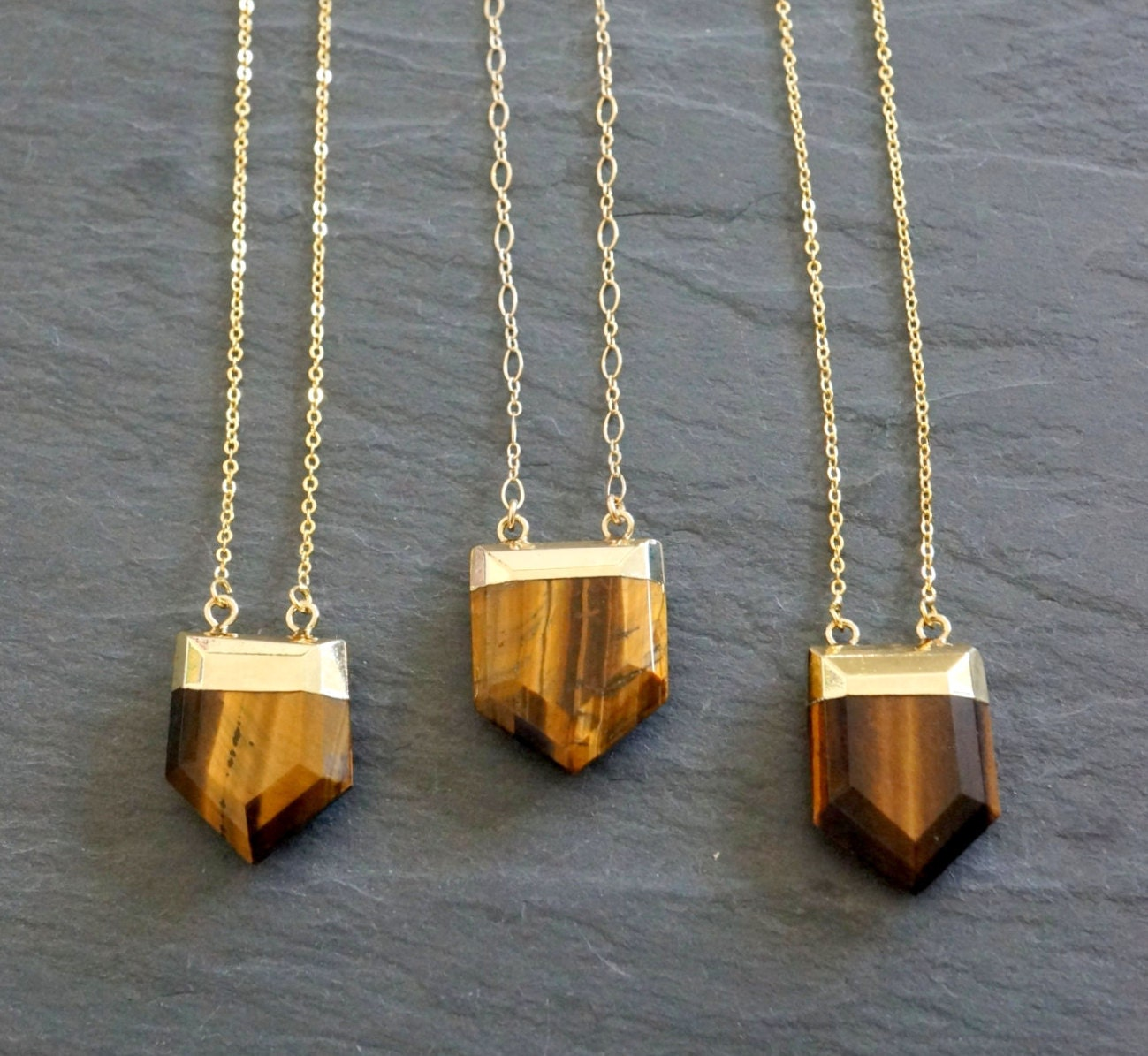 Tigers Eye Necklace Protective Stone Tiger S Eye