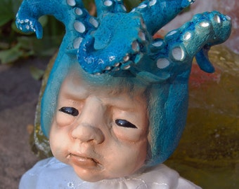 OOAK Baby Squidlet Art Doll