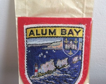 Vintage Alum Bay Sampson's badge/patch