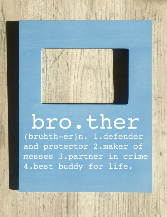 brother picture frame brother buddy for life big brother little brother gifts for