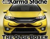 "48"" Car Mustache Vinyl Decal Sticker - Style; Olde Boxer - Color; Black  -  Karma Stache: Your #1 Source for Car Mustaches!"