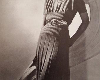 Minerva Knitting Booklet, Vol 6, 1940