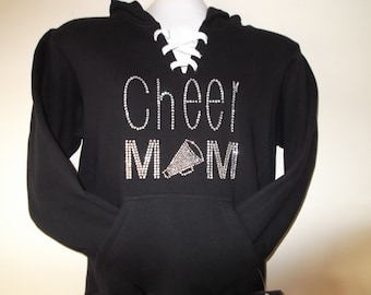 CHEER Mom Hoodie  SZ.xxs-xl