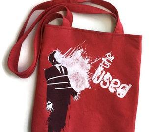 The Used Bag Upcycled Tshirt Tote Bag The Used Band Bag