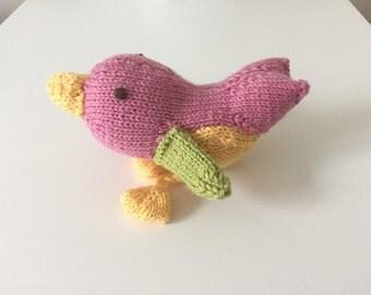 Bird Catnip Cat Toy-100% Wool
