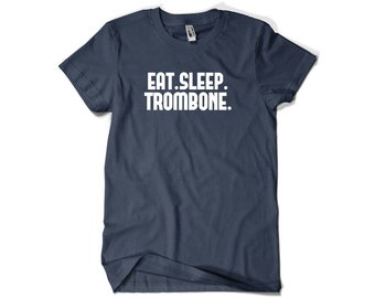 Trombone Shirt-Eat Sleep Trombone Gift Men Women