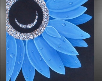 Morning Dew Original Painting on Canvas
