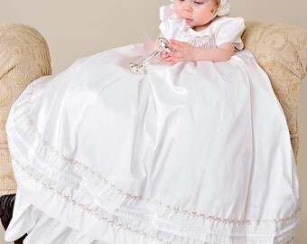Jessa Christening Gown- Silk