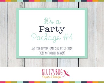 Party Package Four