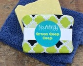 Herb infused natural soap for sensitive skin - organic comfrey, calendula, chamomile, nettle Green Goop - gentle soothing soap for children