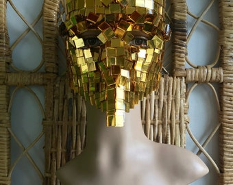 Steampunk Masquerade Mask, Eyes Wide Shut Mask - Midas