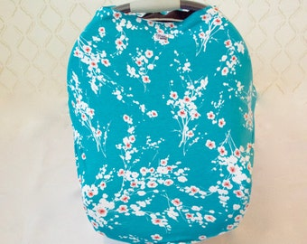 CLEARANCE SALE* Cherry Blossom Car Seat/Nursing Cover