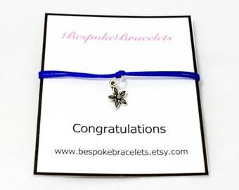 Congratulations gift   Graduation gift   Charm bracelet   Engagement gift   Stackable bracelet  Congratulations bracelet   Bracelet gift