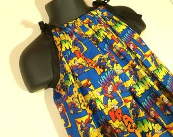 Superman Sundress (Multiple Sizes Available)