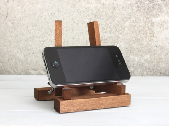 wooden iphone stand wooden iphone stand kutuk gift wood 13326