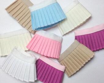 Lati yellow/Pukifee: Pleated skirt [choose color]