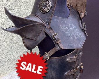 Traveler LEATHER ARMOR - COMPLETE Set Reenactment Larp [made on order]