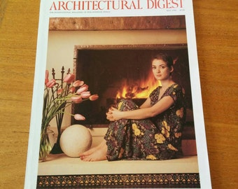 Vintage Architectural Digest Winona Ryder May 1994