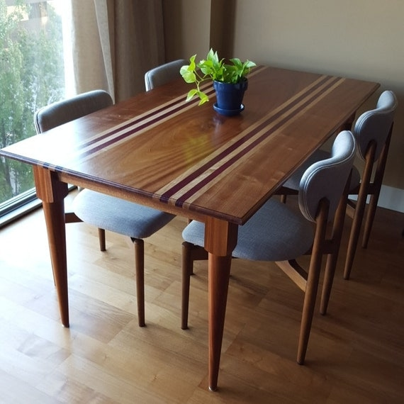 Items similar to custom dining room table with custom for Dining room tables etsy