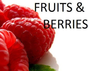 FRUIT & BERRIES- Essential and Aromatic Oils