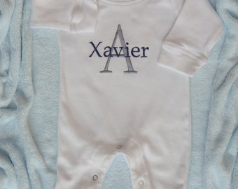 Baby Boy Going Home Outfit. Personalized with Name. Coming Home from Hospital. Newborn take home outfit