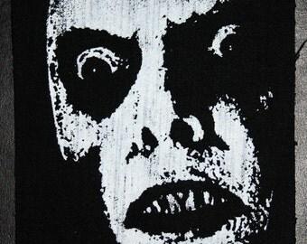 "The Exorcist Demon/""Captain Howdy"" /""Pazuzu"" screenshot patch screenprint"