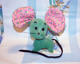 Dream Pet, Dakin, Green Mouse, 1960s