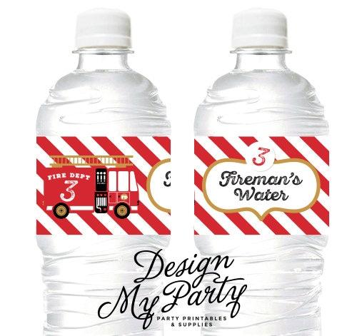 Fire Engine Drink Bottle