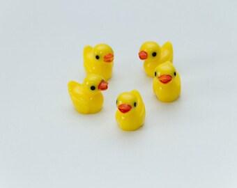 Ducks miniature dolls