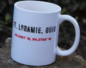 Fort Loramie, Ohio (with GPS coordinates)