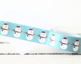Washi Tape, Christmas Washi Tape, Planner Tape, Planner Sticker, Decorative Tape, Planner Accessories, Embellishment, Packaging, Gift Wrap