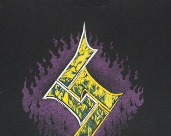 90s Soundgarden Chris Cornell Get on the Snake Vintage Concert T Shirt XL