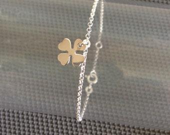 """Chain Bracelet """"Clover"""""""