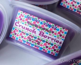 Crunch Berries Wax Melt Wax Tart - Highly Scented Wax Melts - Para Soy Wax Melt - Home Fragrance - Scent Shot
