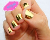 OOPS! Gold Nail Wraps- Slightly Flawed!