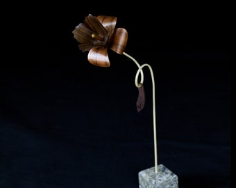 Wooden Flower - Dafi - Made To Order