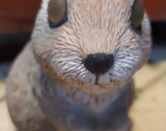 Cute Vintage Garden Rabbit