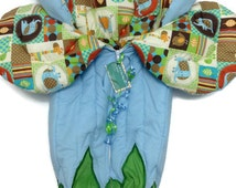 One of a Kind Baby Bunting - Baby Boy Safari - Baby Boy Gift - Bunting - Baby Snuggie - Stroller Liner - Baby Quilt