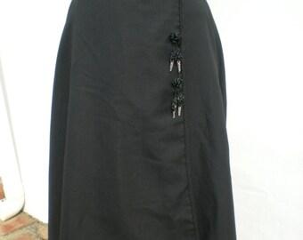 """Girl's Vintage Spanish Riding Skirt - 25"""" Waist"""