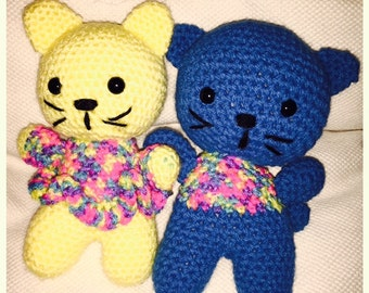 Boy & Girl Cat (made to order)